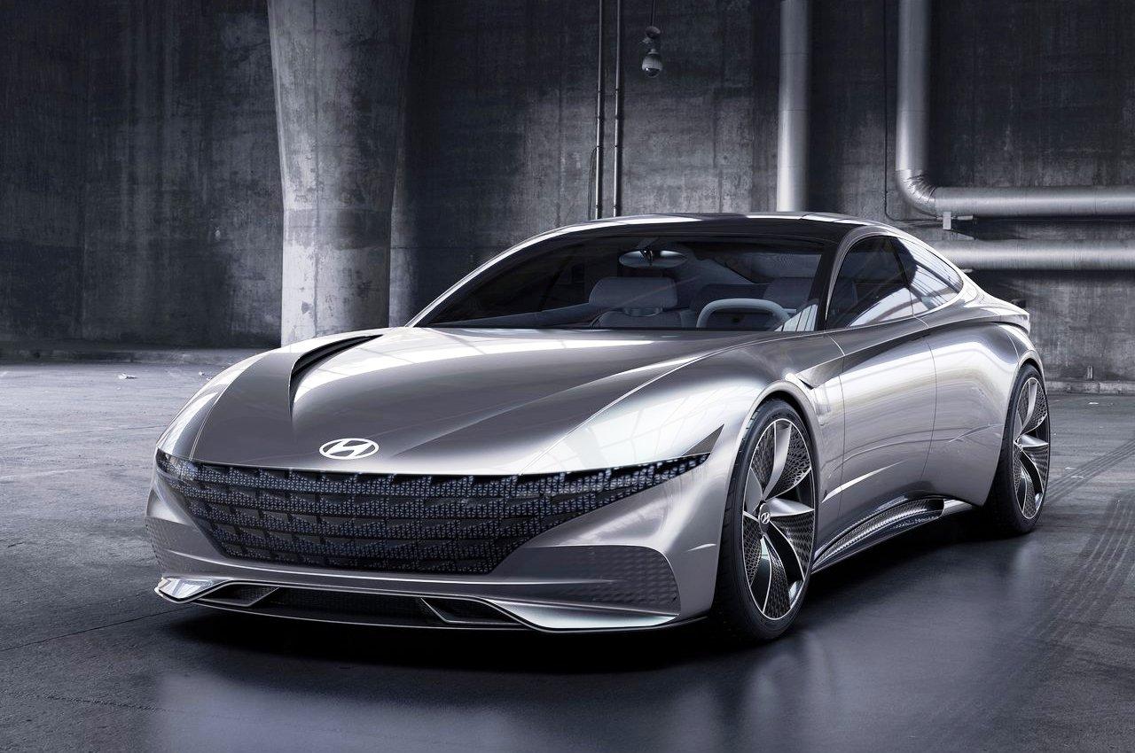 Hyundai Le Fil Rouge Concept front three quarter view