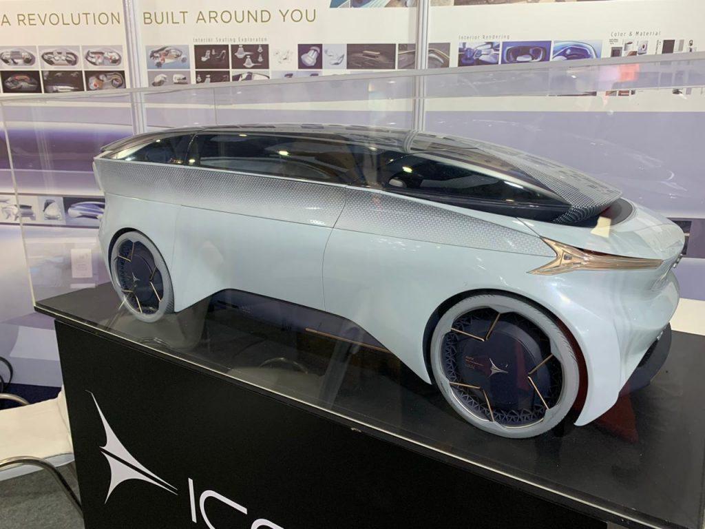 Icona Nucleus - Auto Expo 2020 Live (1)