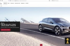 Jaguar I-Pace Website