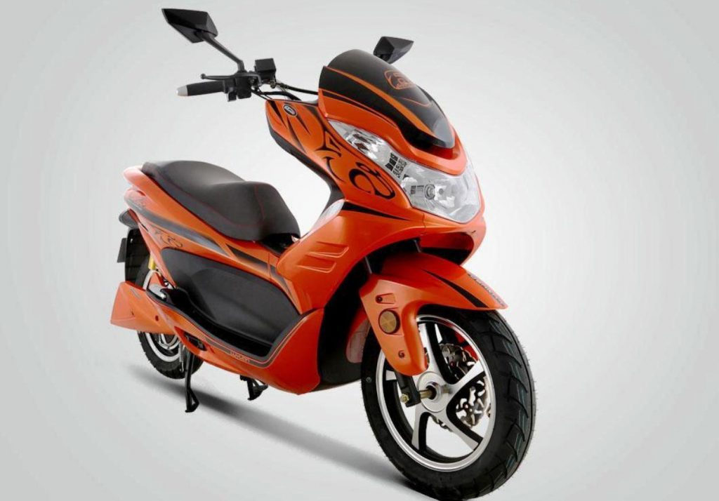 Is the Okinawa Cruiser maxi-scooter the Luyuan LEV018?