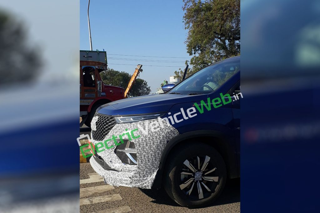 MG Hector Plus Spied 04