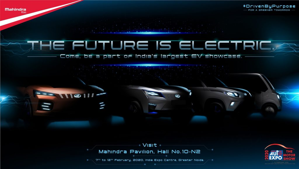 Mahindra Auto Expo 2020 preview teaser
