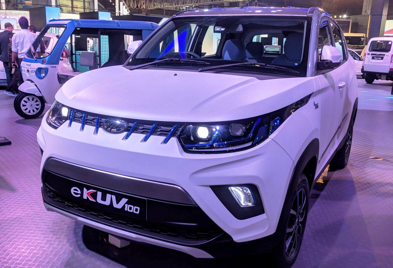 Mahindra eKUV100 Auto Expo 2018
