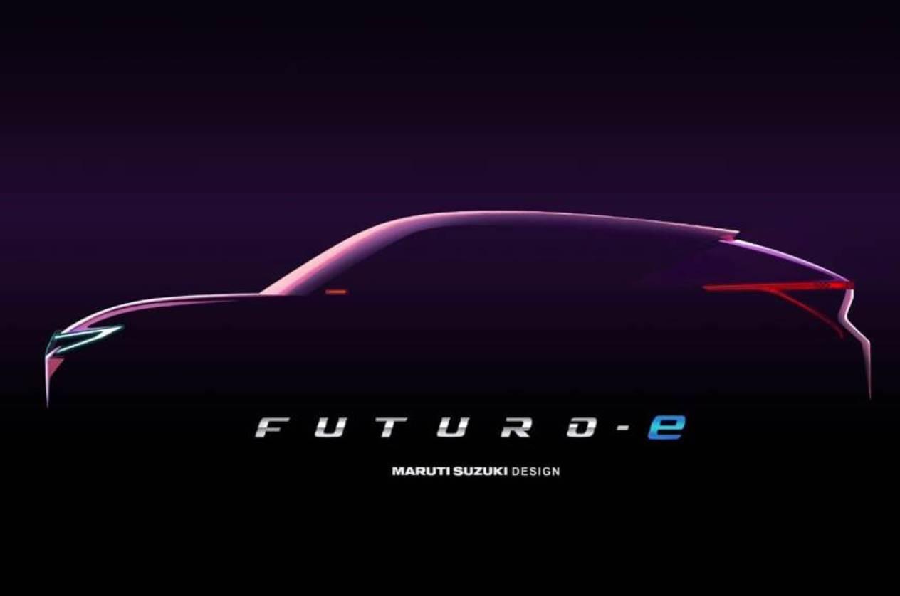 Maruti Suzuki Futuro-e coupe-style electric SUV teased