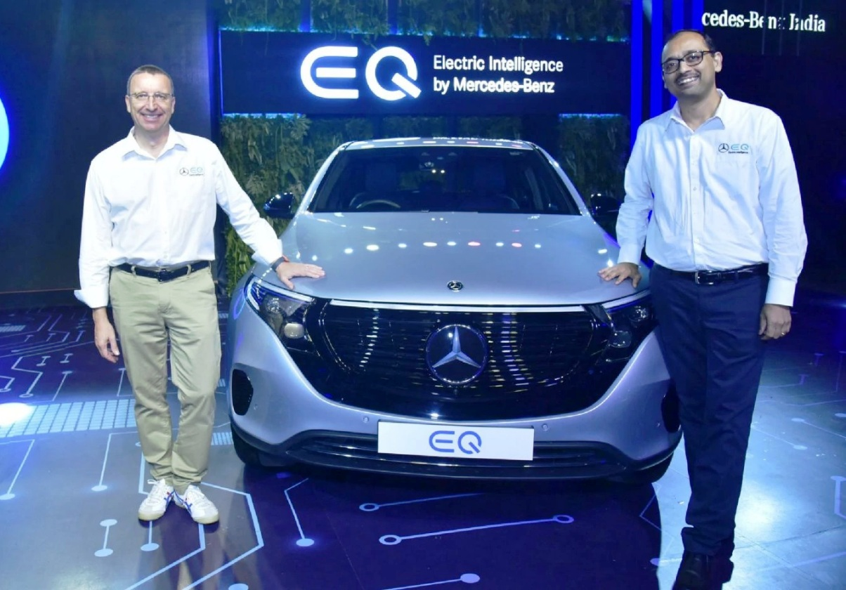 Mercedes-Benz EQC India Unveil