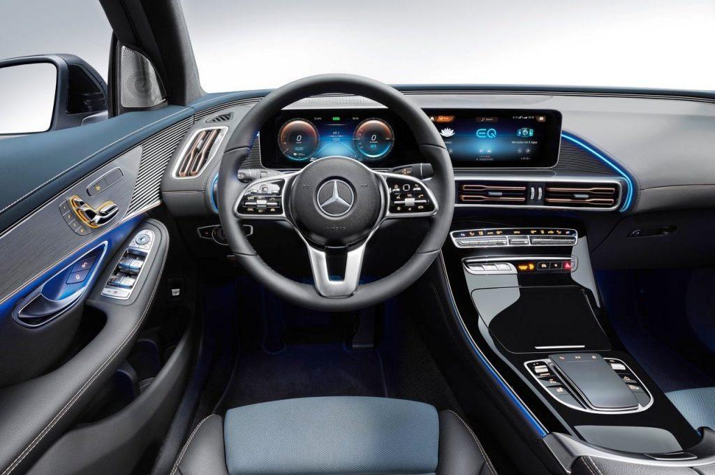 Mercedes-Benz EQC interior view
