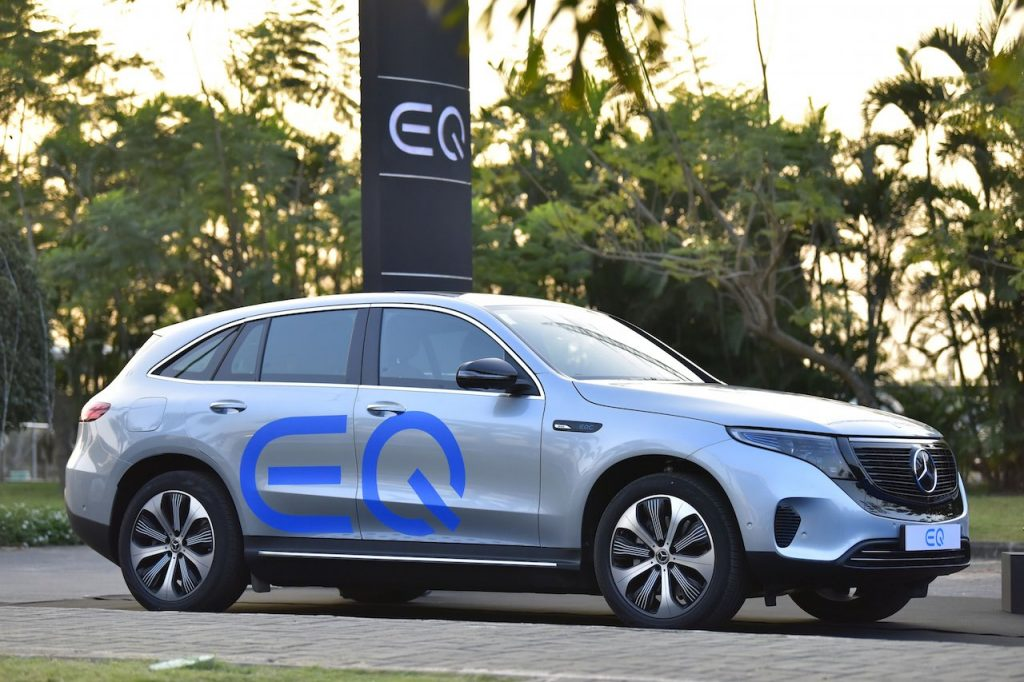 Mercedes EQC India photo