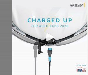 Renault ZOE EV teaser Auto Expo 2020