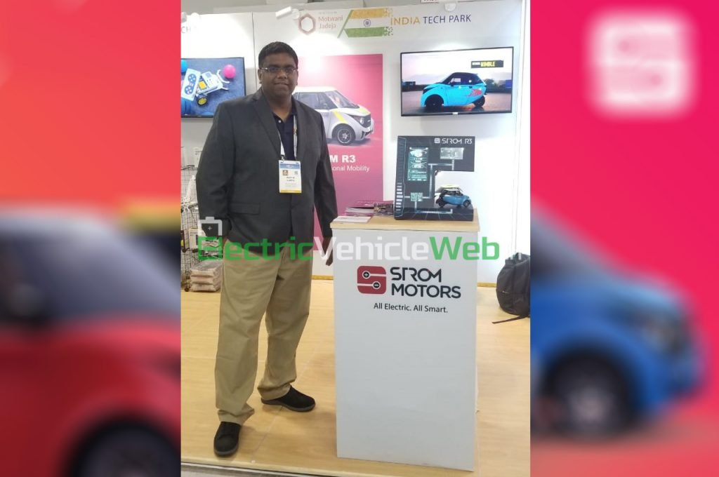 Pratik Gupta & Strom R3 at CES 2020
