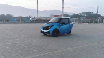 Strom R3 three-wheeled electric car bookings open now