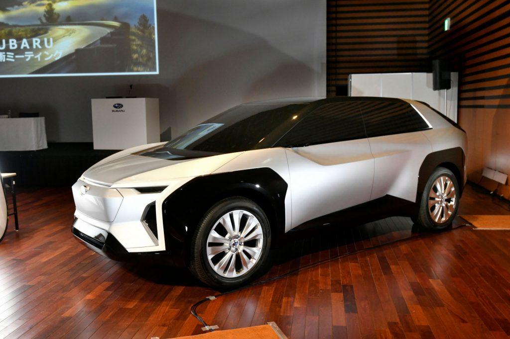 Subaru electric SUV concept 2025 launch confirmed