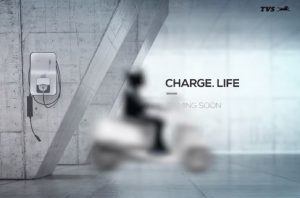 TVS Electric Scooter Teaser
