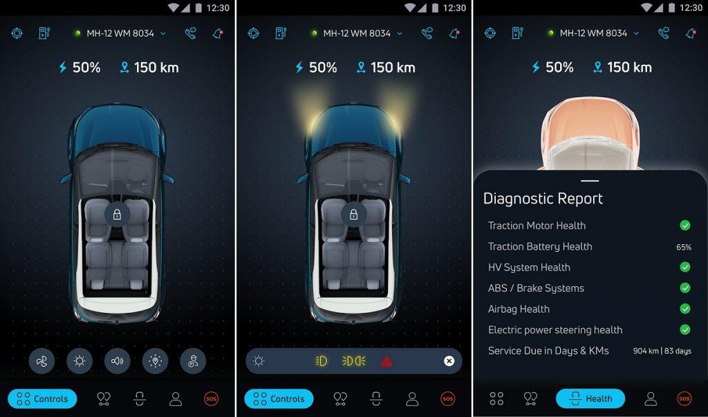 Tata Nexon EV ZConnect App