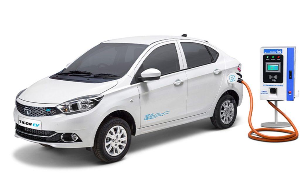 Tata e-Tigor EV charging
