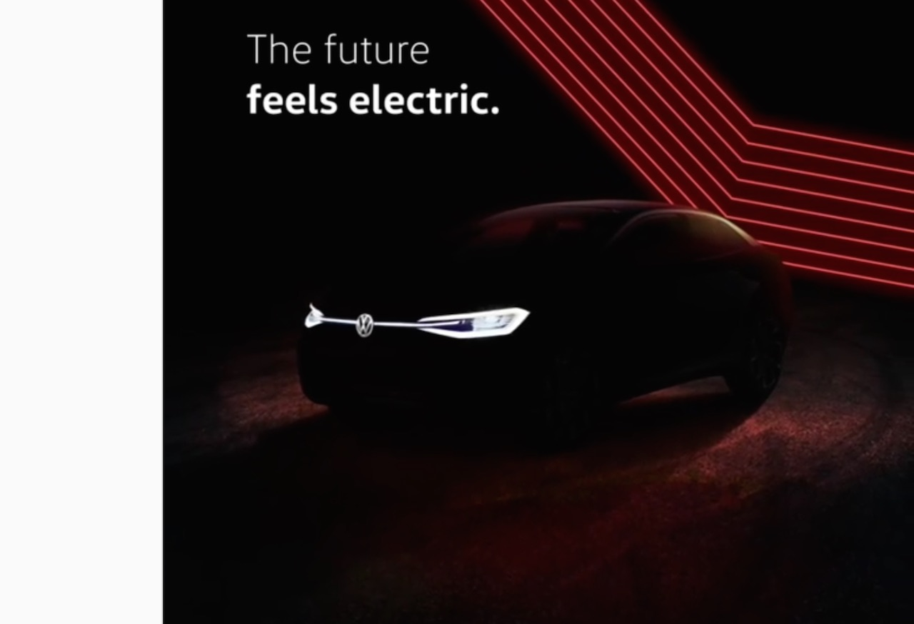 VW ID Crozz electric SUV teased Auto Expo 2020