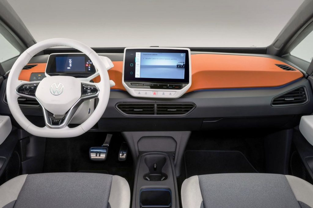 Volkswagen ID 3 1st Edition interior view