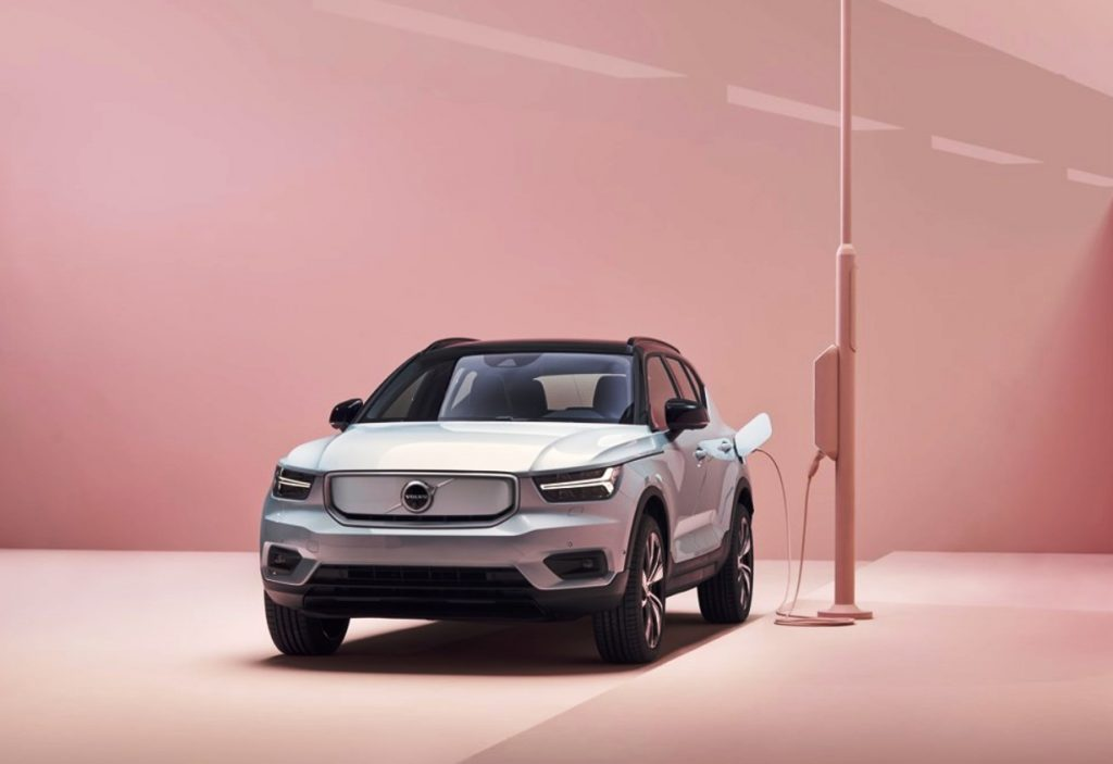 Volvo XC40 Recharge charging