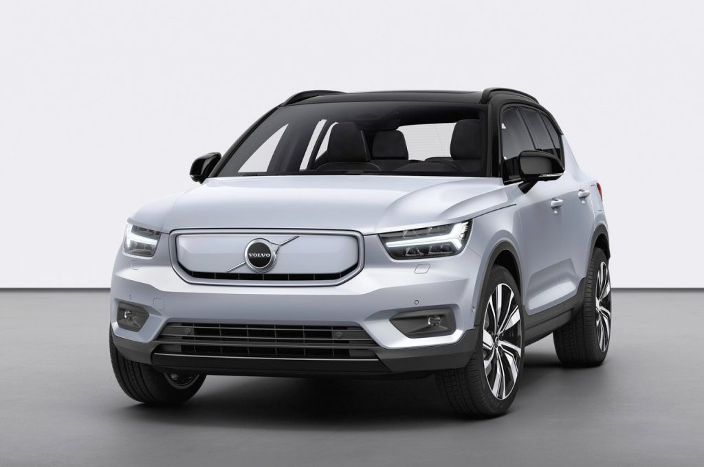 Volvo XC40 Recharge that is coming to India around Diwali 2021