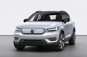 Volvo XC40 Recharge front view