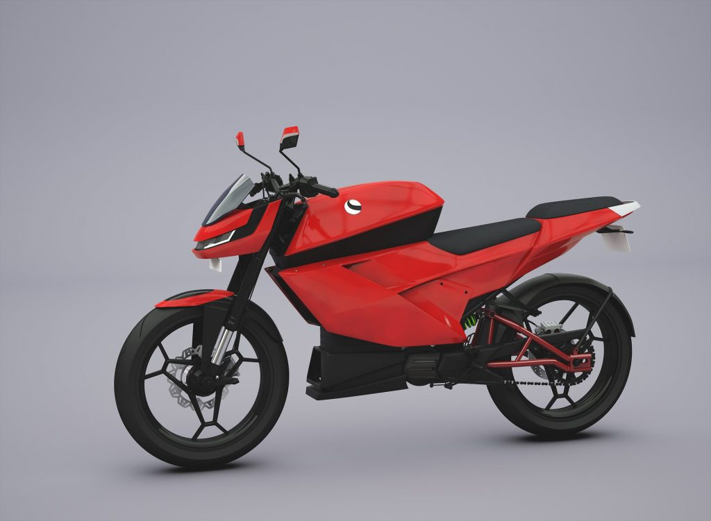 eMotion Surge electric motorcycle