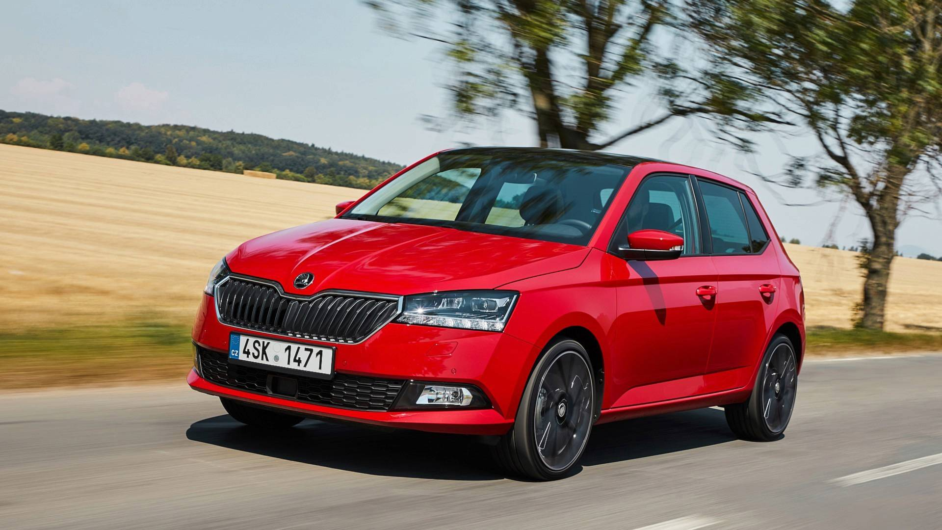 2020 Skoda Fabia front three quarters