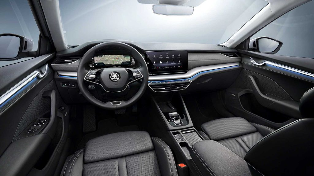 2020 Skoda Superb interior