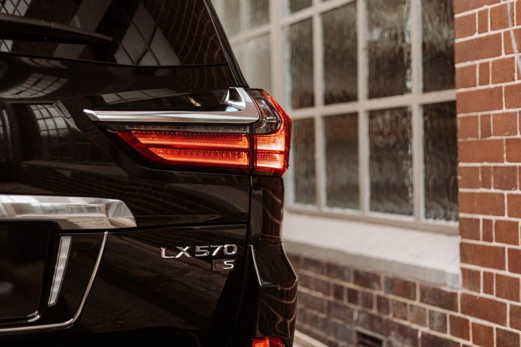 2021 Lexus LX 570 S badge