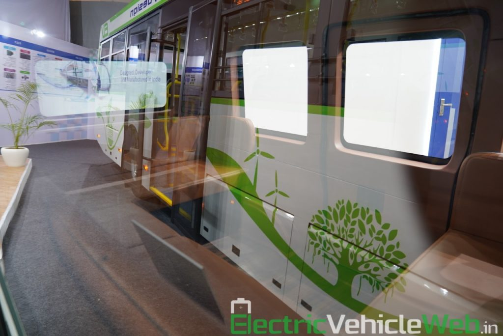 ARAI Prototype Electric Vehicle interiors - Auto Expo 2020