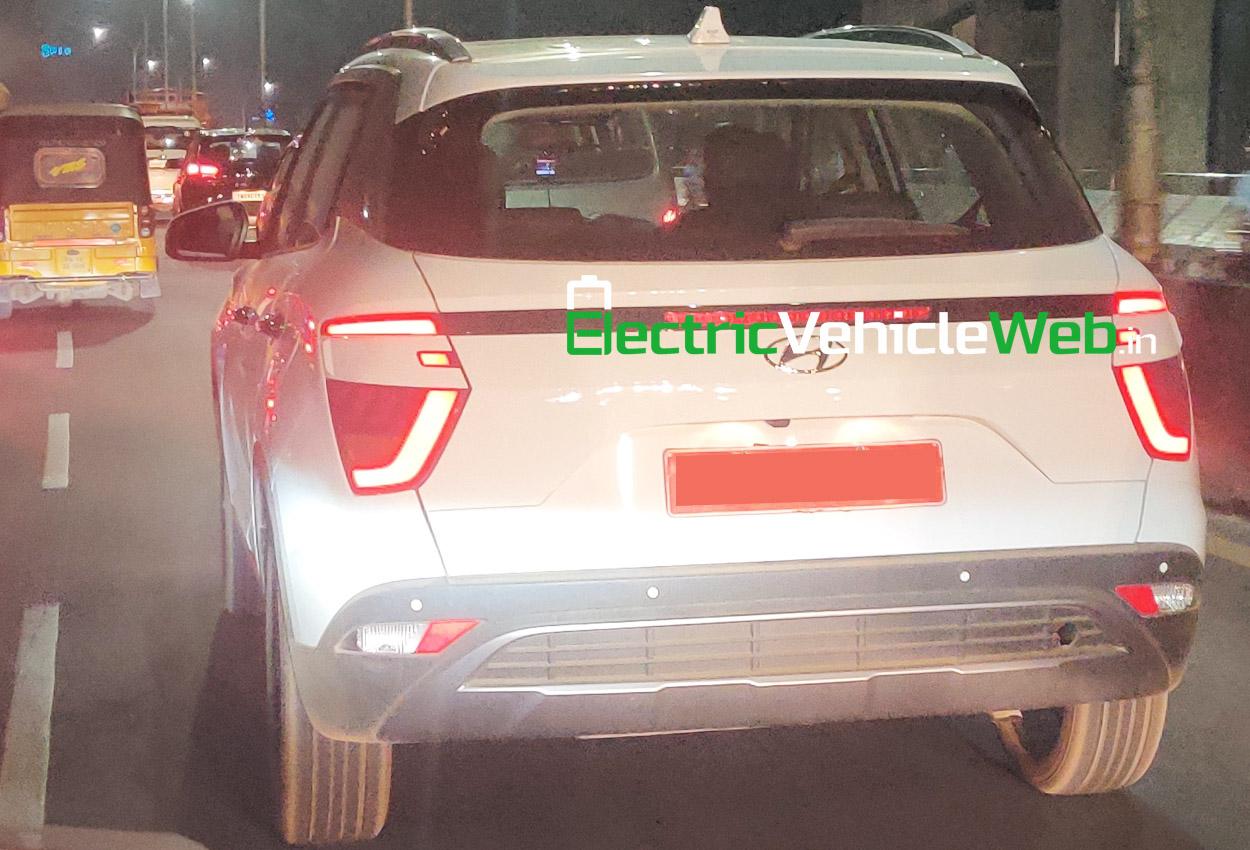 All-new Hyundai Creta spied undisguised 02