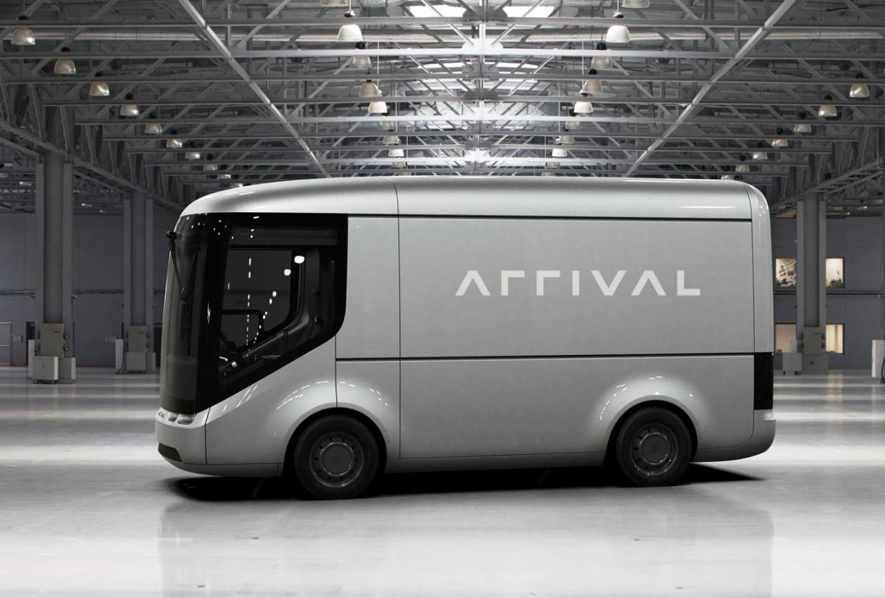 Arrival Generation 2 electric van side view