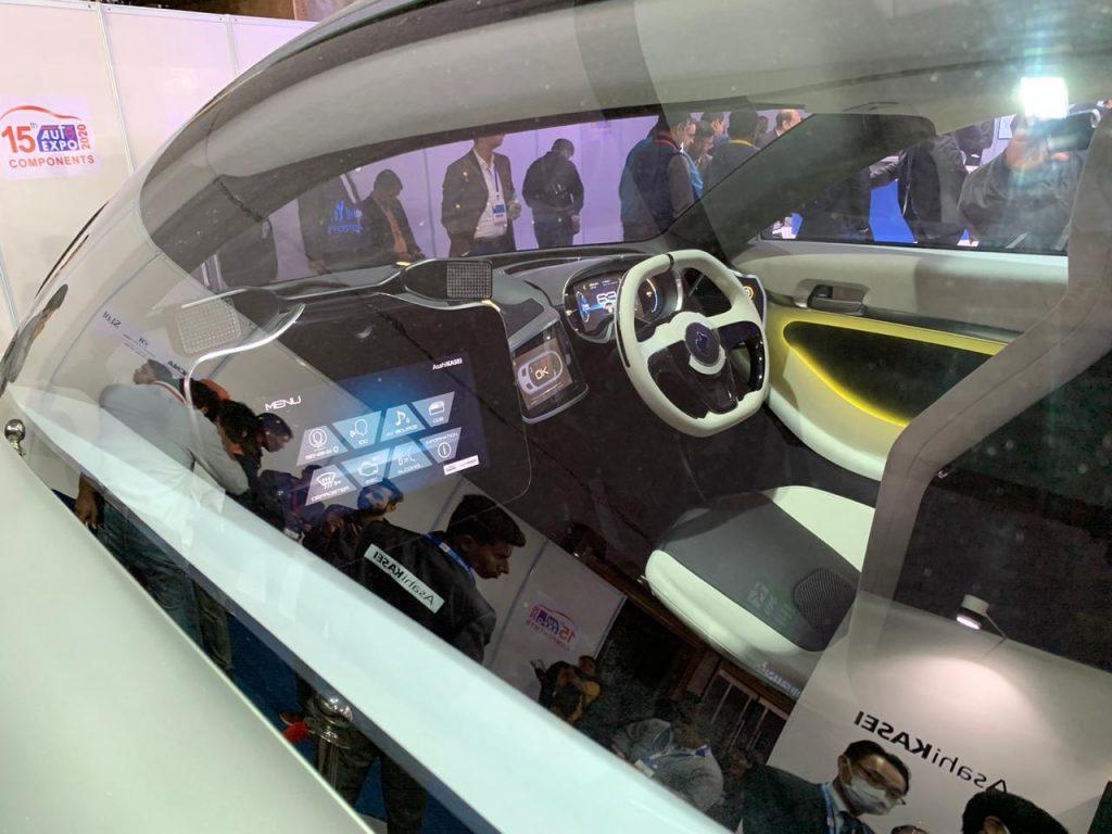 Asahi AKXY Concept interior - Auto Expo Component 2020