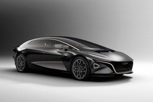Aston Martin Lagonda Vision Concept front three quarter view
