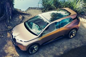 BMW Vision iNext Top view