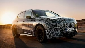 BMW iNext or BMW iX testing prototype