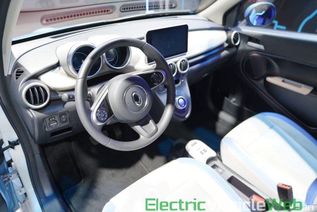 GWM Ora R1 Electric dashboard - Auto Expo 2020
