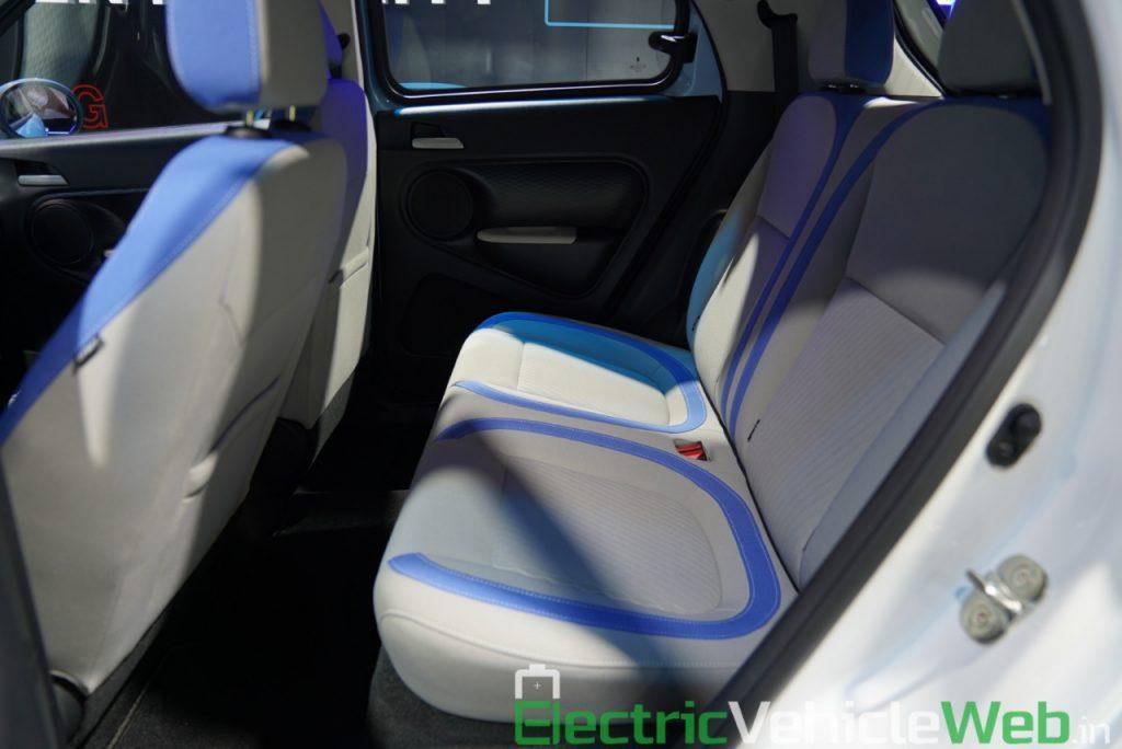 GWM Ora R1 Electric rear seats - Auto Expo 2020