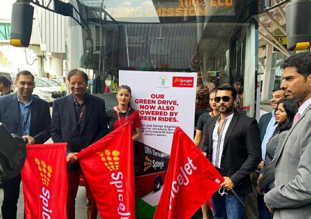 Harigo EngiWork launches Tarmac electric buses