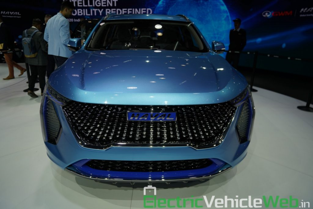 Haval H1 Concept front view - Auto Expo 2020