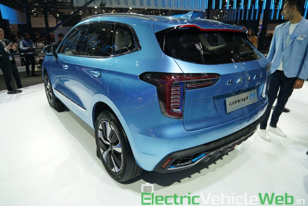 Haval H1 Concept rear three quarter view - Auto Expo 2020