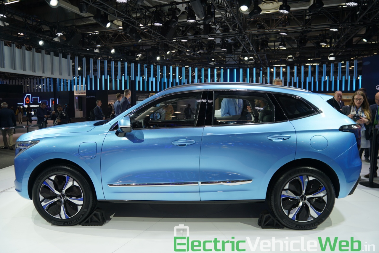 Haval H Concept side view - Auto Expo 2020
