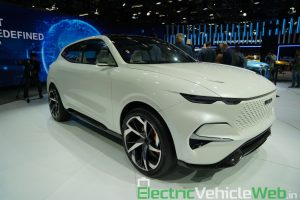 Haval Vision 2025 Concept front three quarter view 1 - Auto Expo 2020
