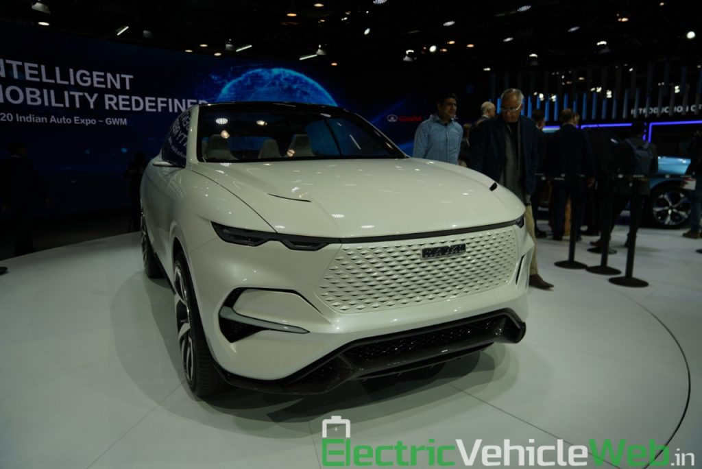 Haval Vision 2025 Concept front three quarter view 2 - Auto Expo 2020