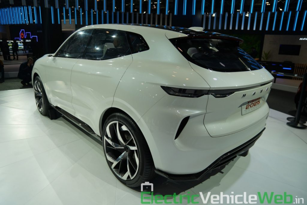 Haval Vision 2025 Concept rear three quarter view 1 - Auto Expo 2020