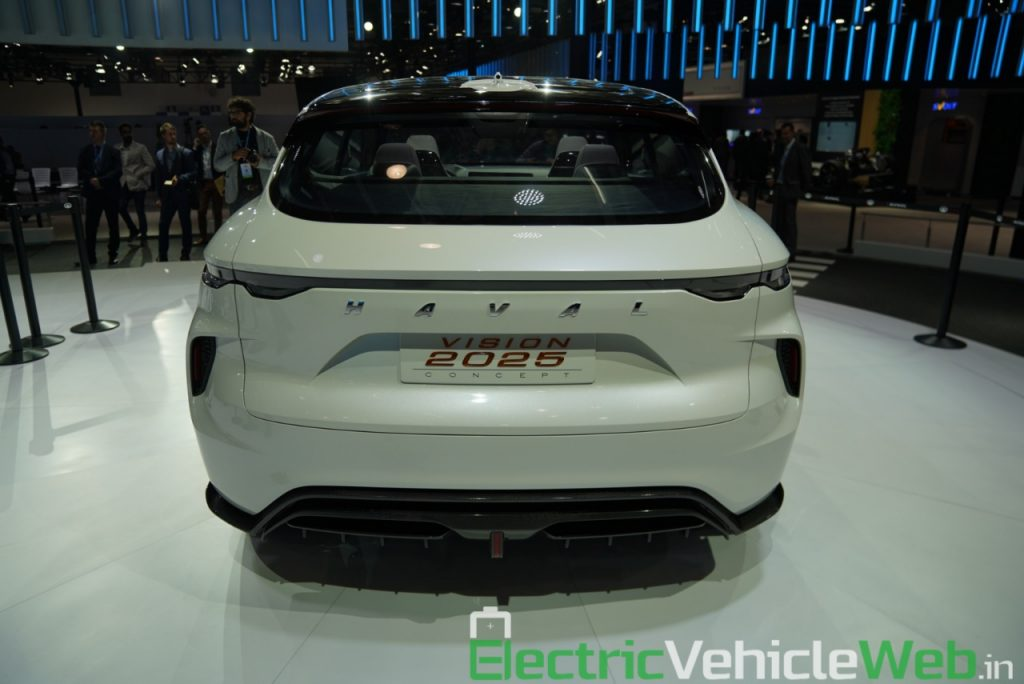 Haval Vision 2025 Concept rear view - Auto Expo 2020