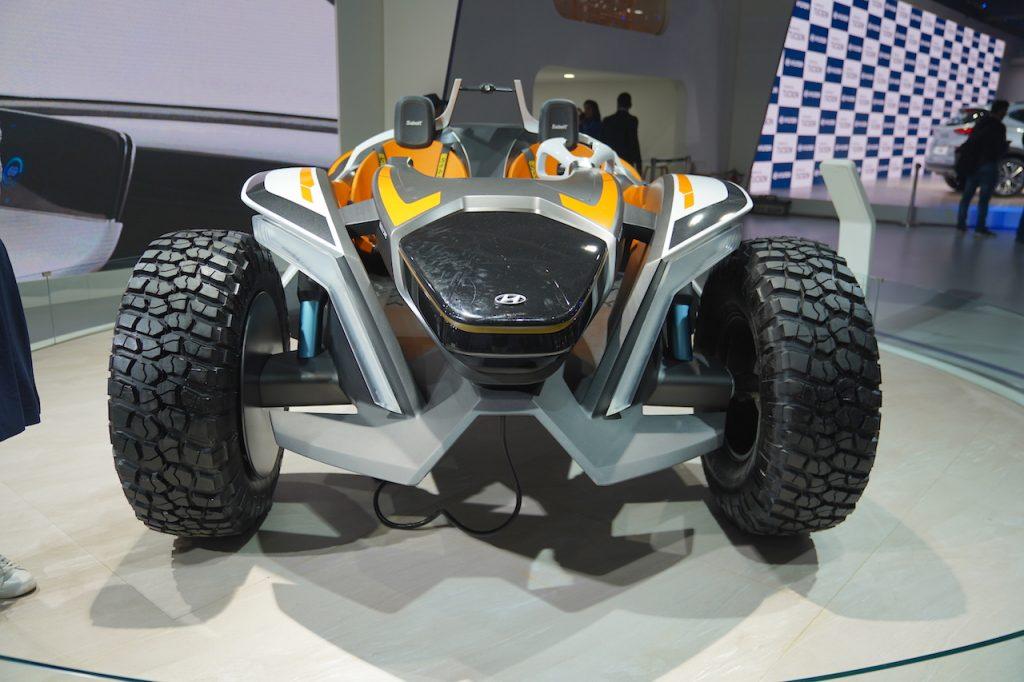 Hyundai Kite Concept front view 1 - Auto Expo 2020