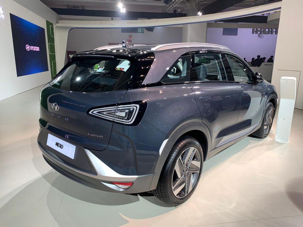 hyundai nexo - auto expo 2020 live