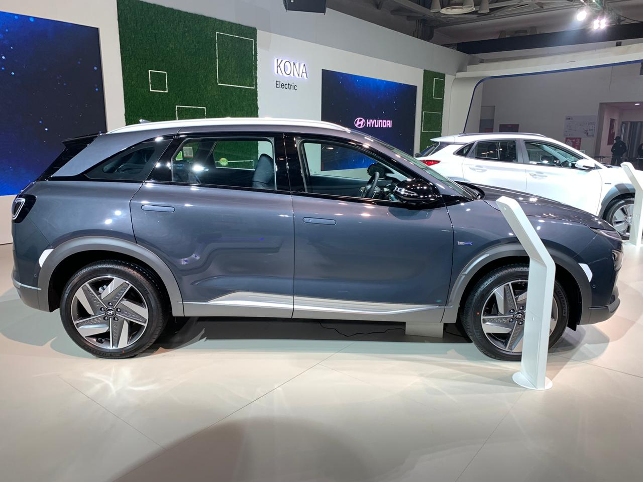 Hyundai Nexo side view 2- Auto Expo 2020