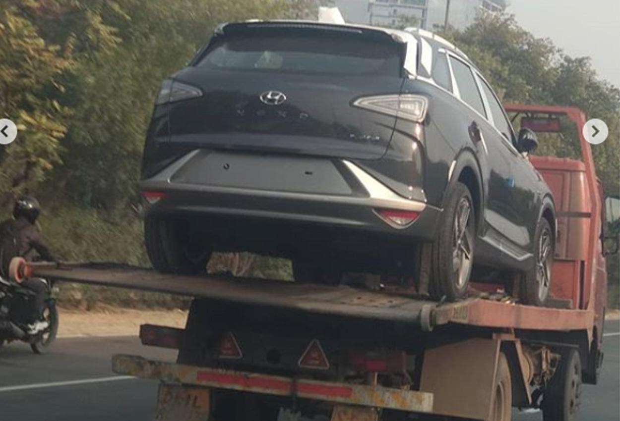 Hyundai Nexo spotted for Auto Expo 2020