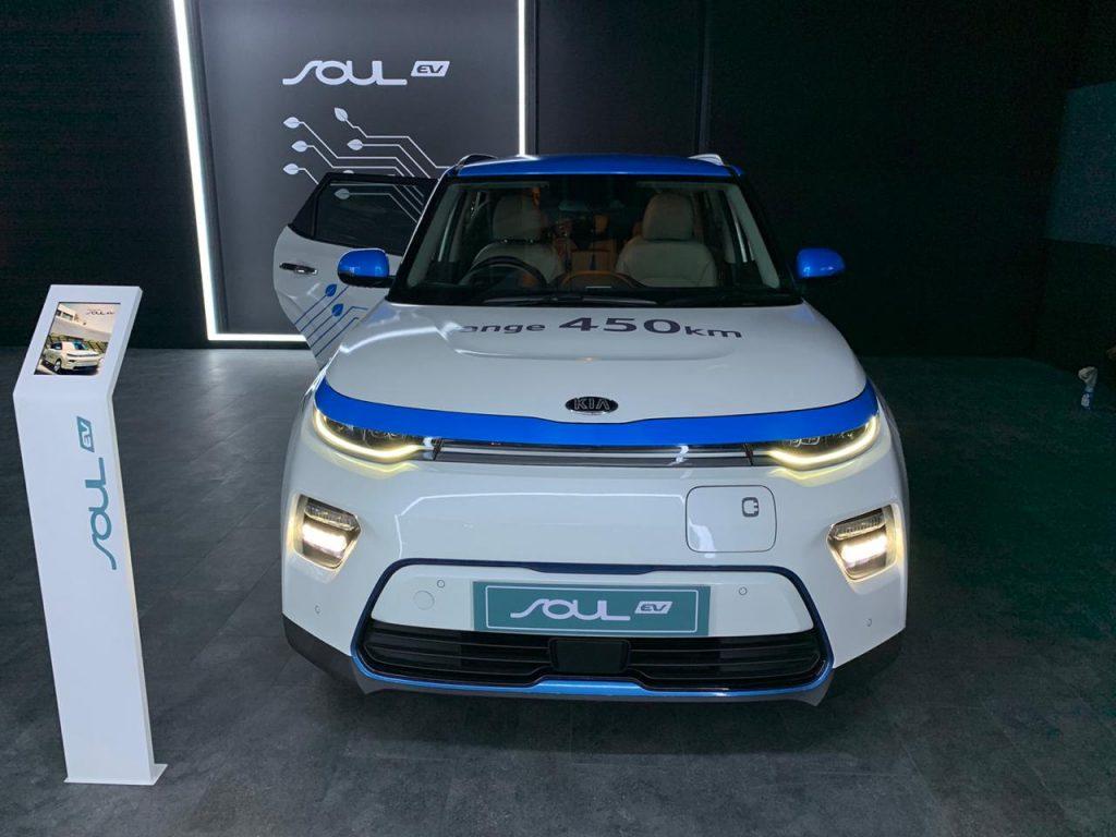 Kia Soul EV Auto Expo 2020 Front View