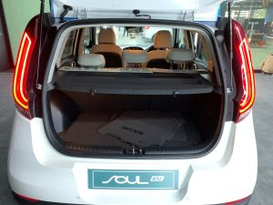 Kia Soul EV Auto Expo 2020 boot space